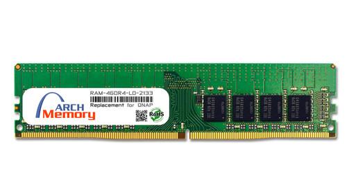 4GB RAM-4GDR4-LD-2133 DDR4-2133 PC4-17000 288-Pin UDIMM RAM | Memory for QNAP