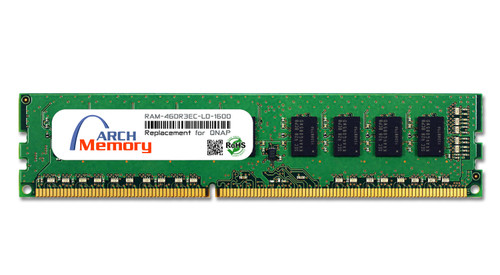 4GB RAM-4GDR3EC-LD-1600 DDR3-1600 PC3-12800 240-Pin ECC UDIMM RAM | Memory for QNAP