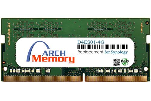 4GB D4ES01-4G DDR4-2666 PC4-21300 260-Pin ECC Sodimm RAM | Memory for Synology