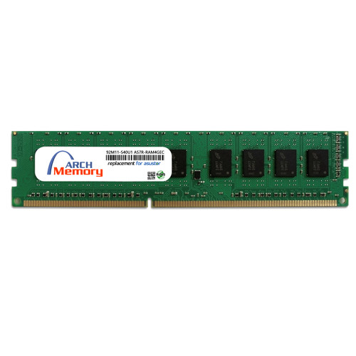 4GB  92M11-S40U1 AS7R-RAM4GEC  DDR3-1600 240-Pin ECC Udimm RAM | Memory for Arch