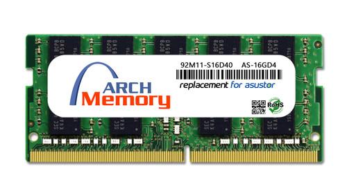 16GB 92M11-S16D40 AS-16GD4 DDR4-2666 260-Pin ECC So-dimm RAM | Memory for Asustor
