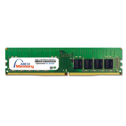 16GB 92M11-S16EUD40 AS-16GECD4-U DDR4-2666 288-Pin ECC Udimm RAM   Memory for Asustor