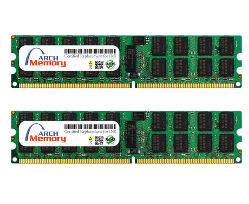 16GB SNPP134GCK2/16G A6994478 (2 x 8 GB) 240-Pin DDR2 ECC RDIMM Server RAM Memory for Dell