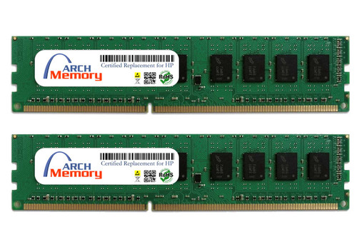 8GB AT025AA (2 x 4GB) 240-Pin DDR3 UDIMM RAM | Memory for HP