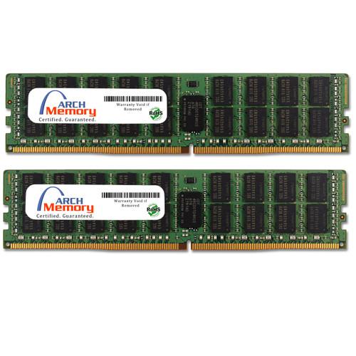 32GB (2 x 16GB) DDR4-2133 PC4-17000 288-Pin ECC Registered Dual Rank Memory