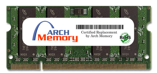 2GB 200-Pin DDR2-800 PC2-6400 Sodimm (2Rx8) RAM