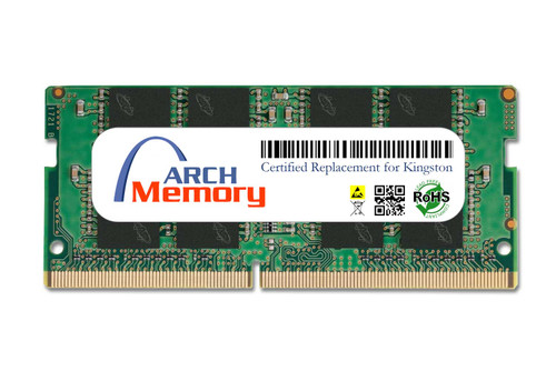 16GB KVR26S19D8/16 260-Pin DDR4 2666 MHz SODIMM RAM   Kingston Replacement Memory