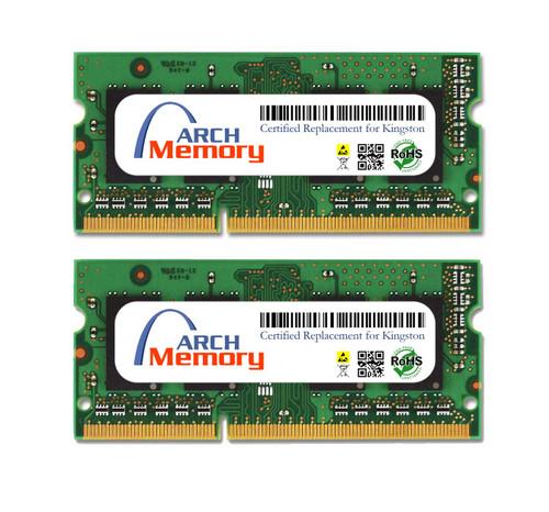 4GB KTA-MB1600LK2/8G Kit (2 x 4 GB) DDR3L 1600MHz 204-Pin SODIMM RAM   Kingston Replacement Memory
