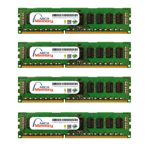 8GB KTD-PE316SK4/32G Kit (4 X 8 GB) DDR3 1600MHz 240-Pin ECC RDIMM Server RAM | Kingston Replacement Memory