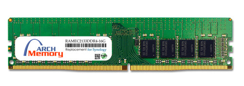 16GB RAMEC2133DDR4-16G 288-Pin DDR4-2133 PC4-17000 ECC UDIMM RAM | Memory for Synology