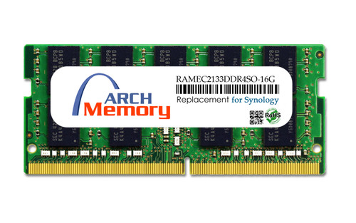 16GB RAMEC2133DDR4SO-16G 260-Pin DDR4-2133 PC4-17000 ECC Sodimm RAM | Memory for Synology
