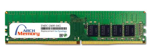 16GB D4EC-2400-16G 288-Pin DDR4-2400 PC4-19200 ECC UDIMM RAM | Memory for Synology