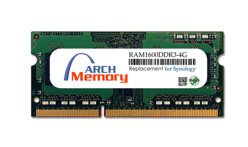 4GB RAM1600DDR3-4G DDR3L-1600 PC3L-12800 204-Pin So-dimm RAM | Memory for Synology