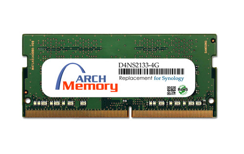 Arch Memory Replacement for Synology D4NS2133-4G 4GB DDR4-2133 PC4-17000 260-Pin So-dimm RAM