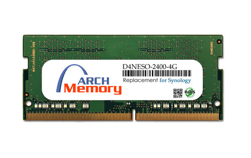 Arch Memory Replacement for Synology D4NESO-2400-4G 4GB DDR4-2400 PC4-19200 260-Pin So-dimm RAM