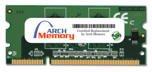 256MB DDR2 144Pin Sodimm 1.8v 16 Bit for HP Printers (CB423A) | Arch Memory