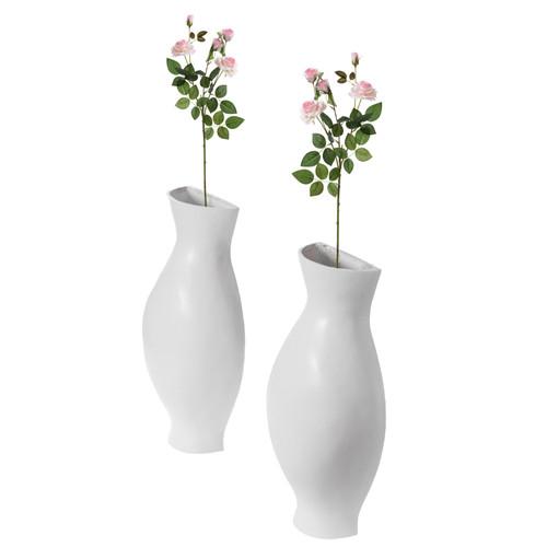 Decorative Split Vase Duo Floor Vase
