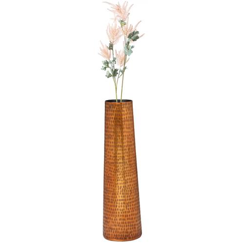 Decorative Aluminum Hammered Table Flower Centerpiece Vase