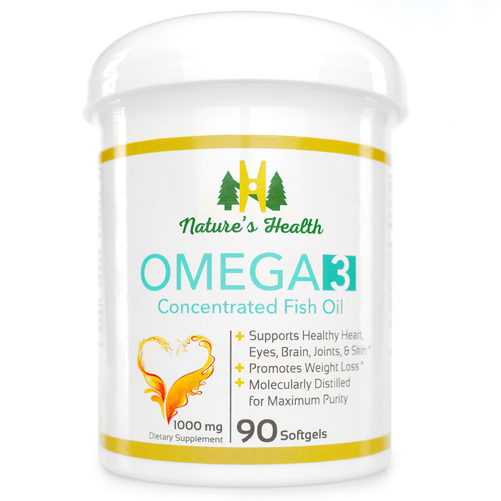 Nature's Health OMEGA 3 Concentrated Fish Oil