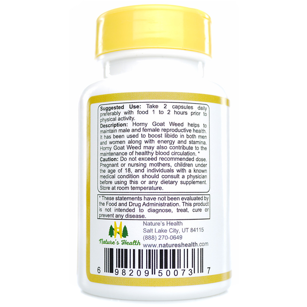 Horny Goat Weed Description