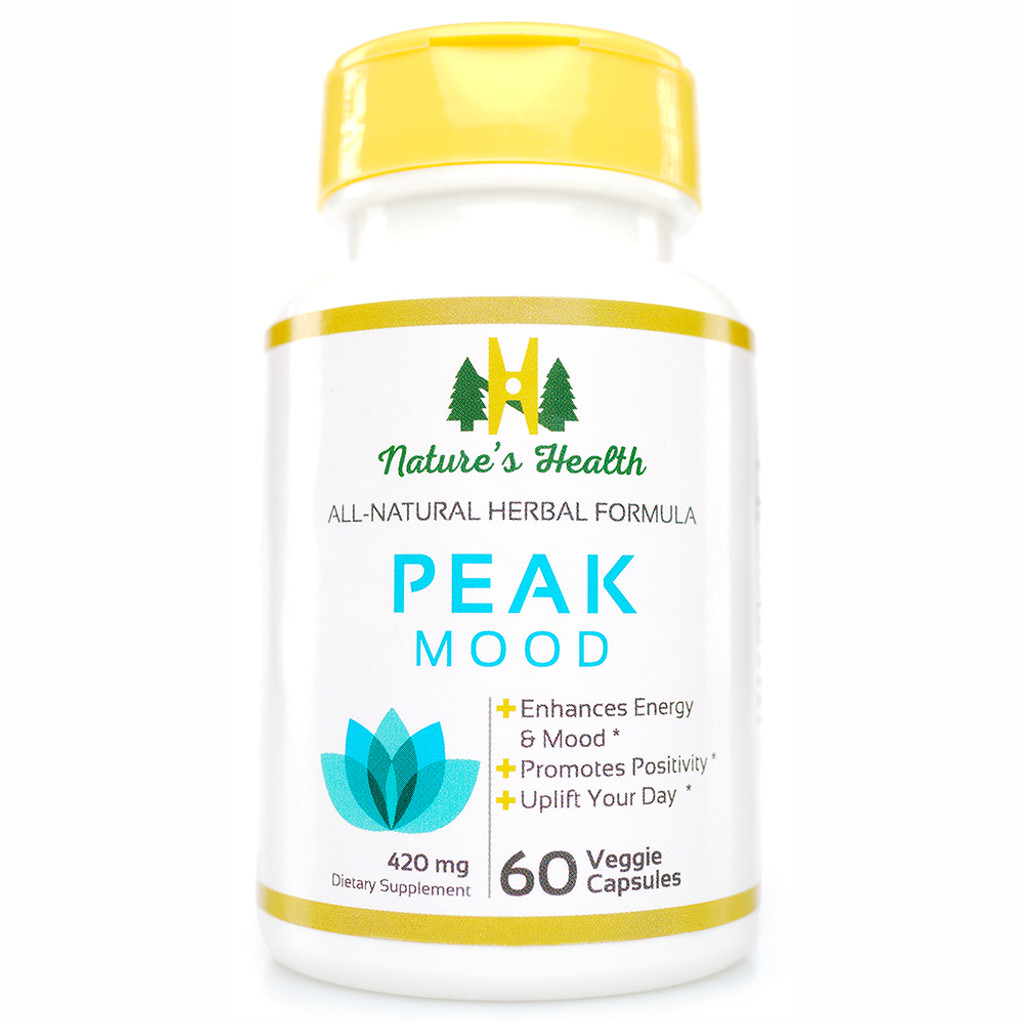 Peak Mood | Herbal Formulation | Nature's Health
