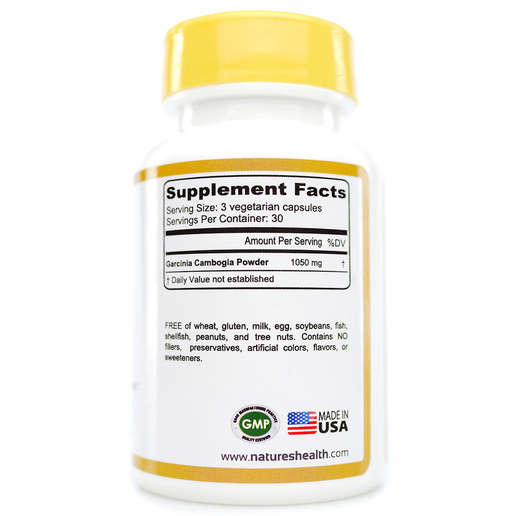 Garcinia Cambogia Supplement Facts