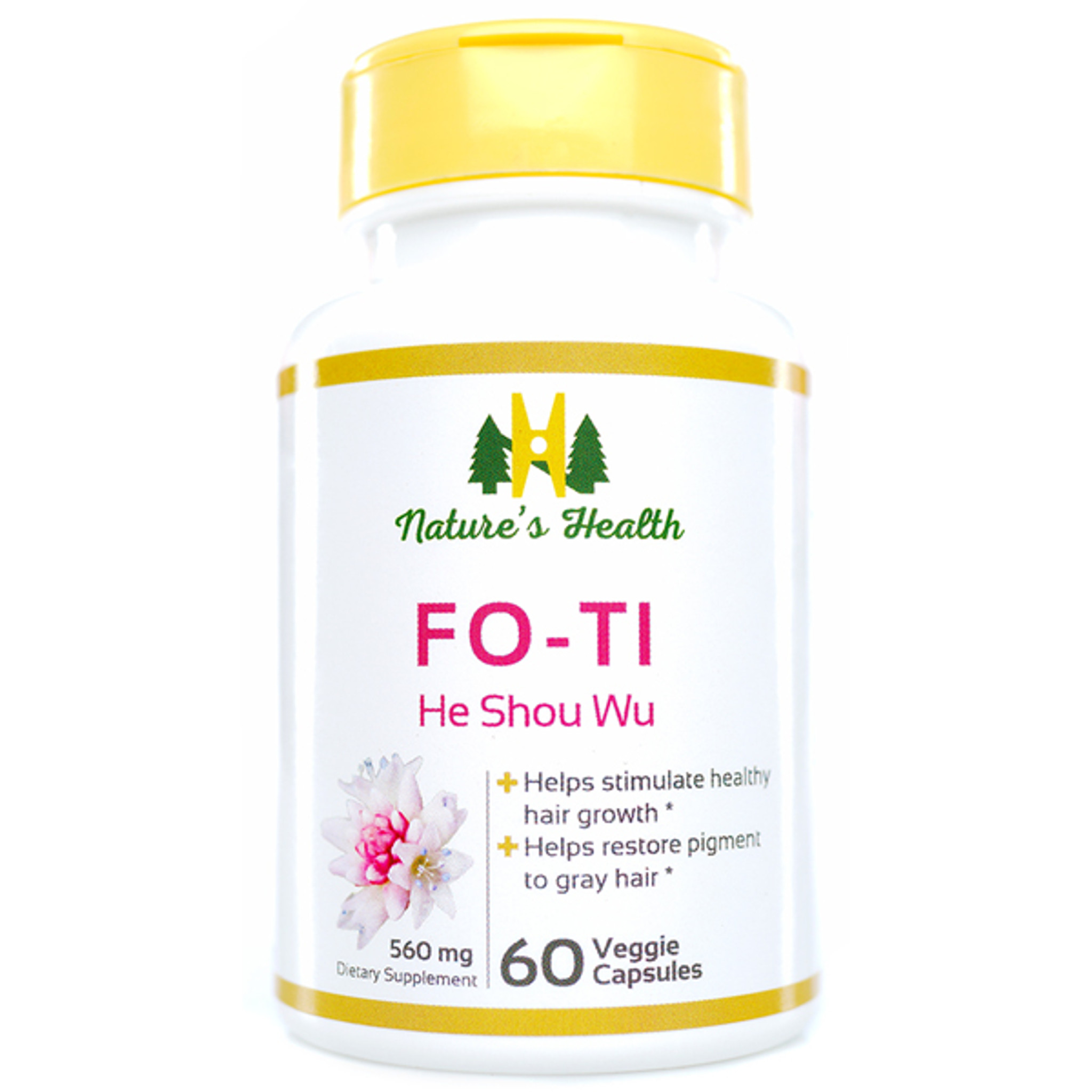 Fo-Ti - All-Natural Beauty & Hair Care Supplement - Nature ...