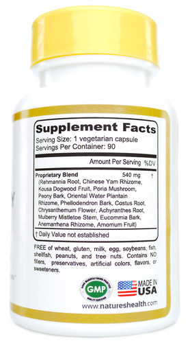 Liver & Kidney Cleanse Supplement Facts