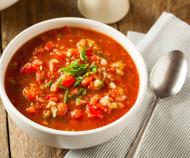 Kimchi Gazpacho - A summer delight