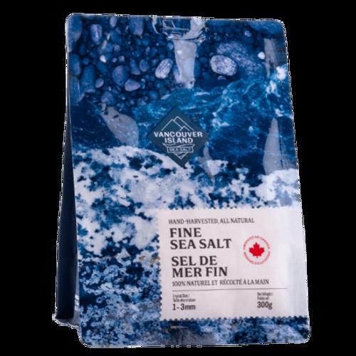 Vancouver Island fine sea salt (300 g)