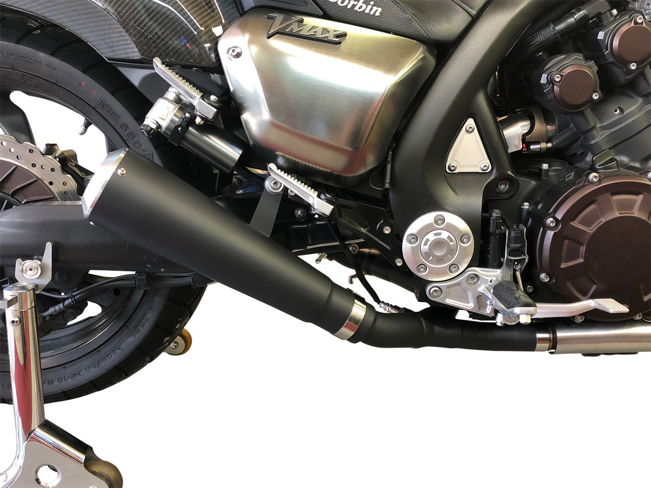 TwinStar 4-2 Slip On Exhaust System Ceramic Coated Black (09-19 All)