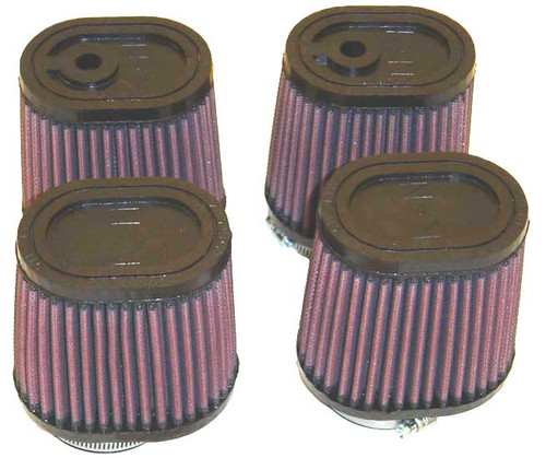 K&N Individual POD Air Filters for 1985-2007 Yamaha Vmax VMX12