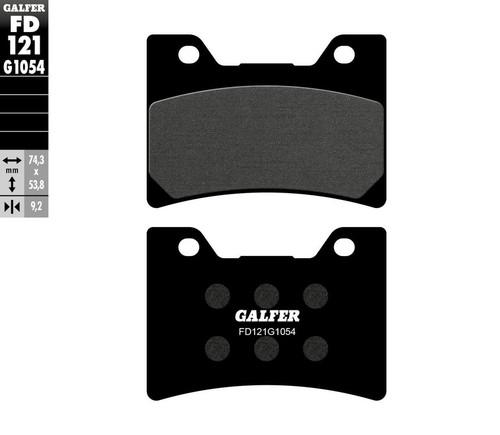 Galfer Semi-Metallic Compound Front Brake Pads 1993-2007 Yamaha Vmax