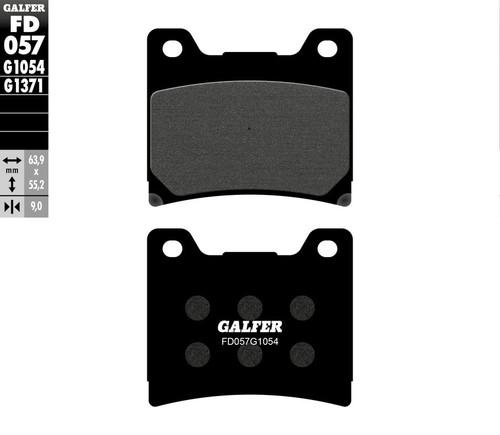 Galfer Semi-Metallic Compound Front Brake Pads 1985-1992 Yamaha Vmax