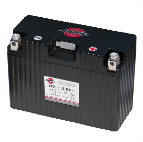 Shorai LFX18L1-BS12 Battery (85-07 All)