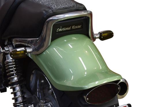 Rear Turn Signals - Smoked Amber Lens/ Clear Bulb 1985-2007 Yamaha Vmax