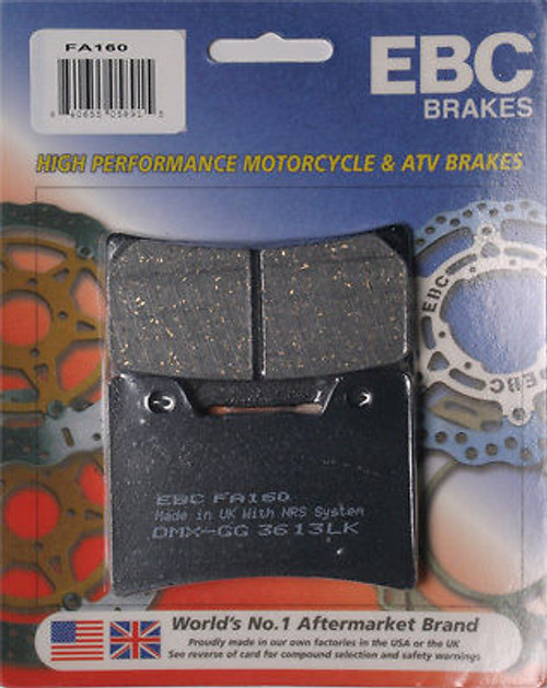 High Performance Organic Brake Pads - Front (93-07 All)