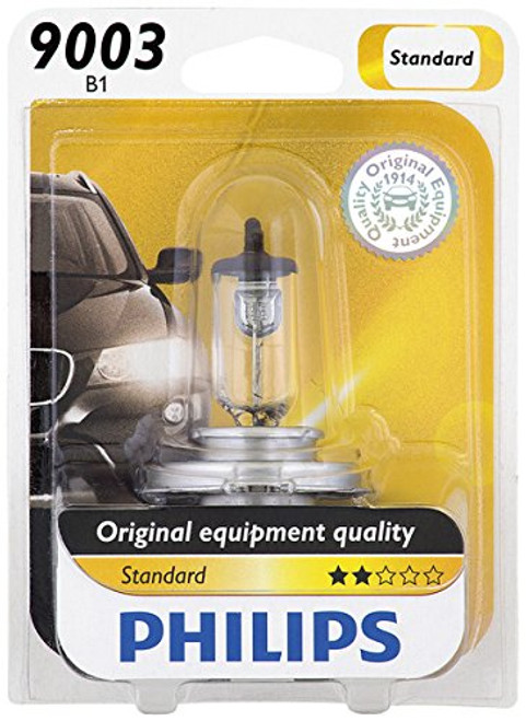 Philips 9003 Standard Replacement Light Bulb - Yamaha Vmax 1985-2007