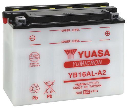 YUASA YB16AL-A2 Battery Yamaha Vmax (85-07 All)