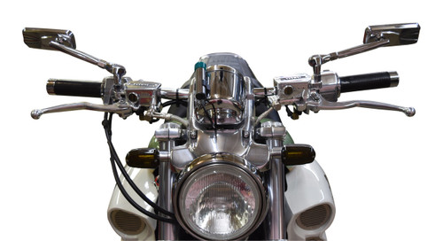 Modern Style Mirrors for the Yamaha Vmax.