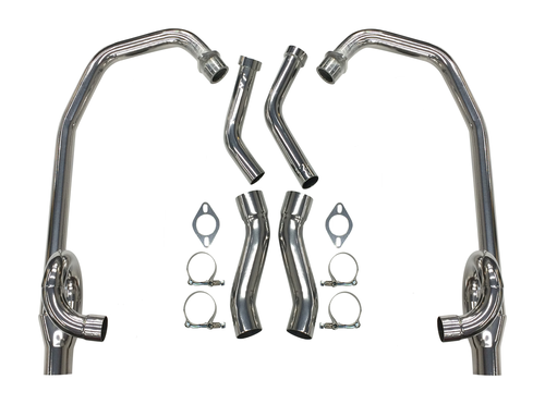 Maxflow StreetPro 4-2 Exhaust 1985-2007 Yamaha Vmax Pipes Only