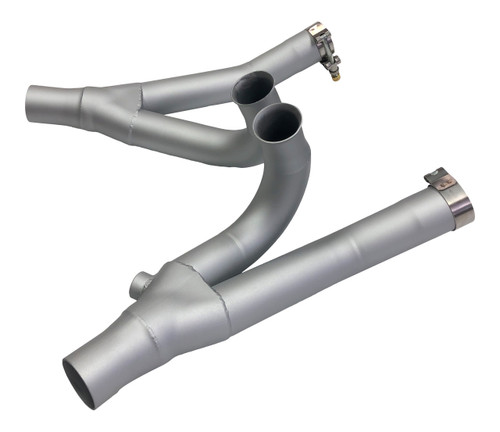Stealth Cat Eliminator Exhaust System - Satin Silver Ceramic Coated (09-20 All)
