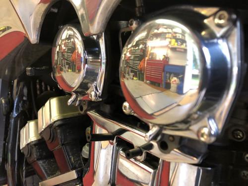 Polished Carburetor Cap 1985-2007 Yamaha Vmax VMX1200