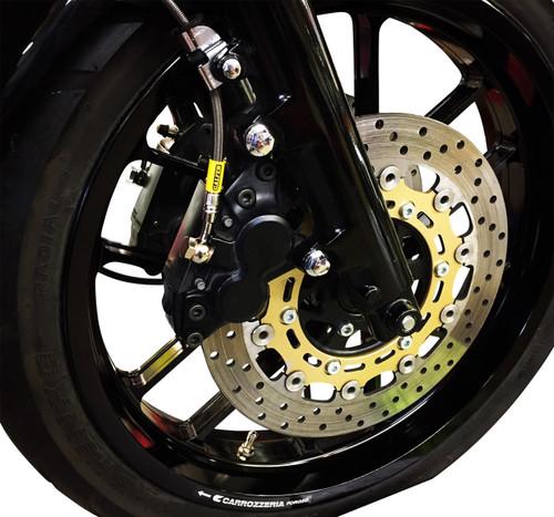 Galfer Front Brake Line Kit 3 Line for 06-12 Yamaha RAPTOR700