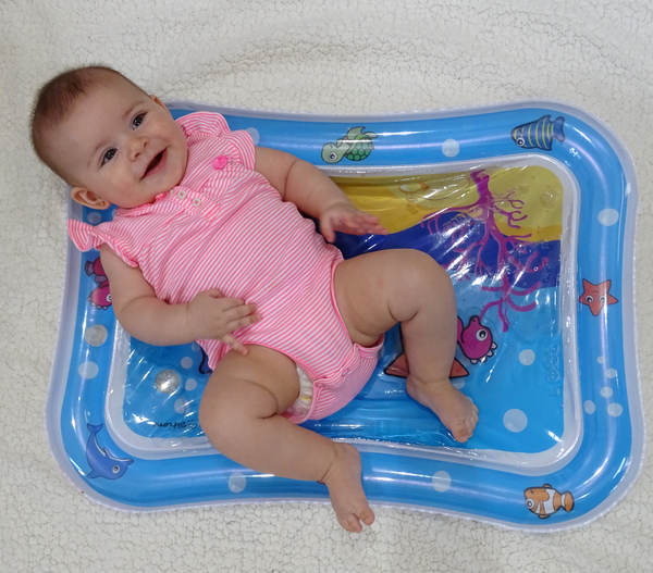 Tummy Time Water Mat & Baby Activity Center