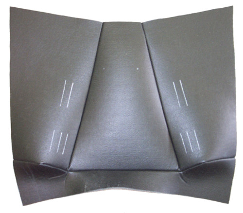 YRAC185 UNDER SEAT PANEL