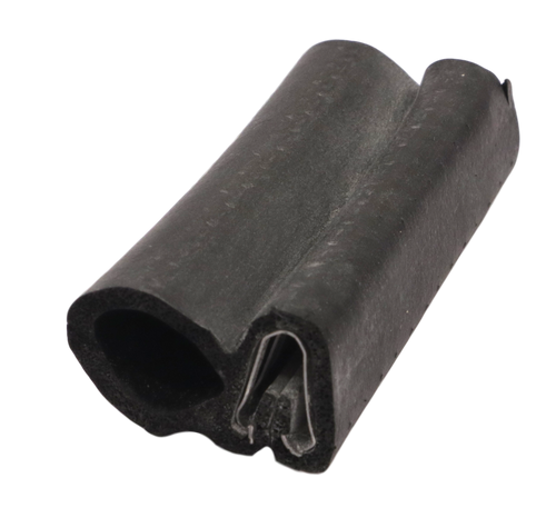 """CO SIDE BULB SEAL #7006 3/4""""X 1/8"""" GRIP CLIP ON STYLE"""