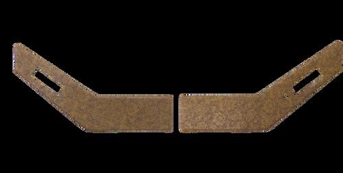 IH 86-88 UPPER DOOR PANELS (WESTERN BROWN)