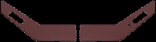 IH 86-88 UPPER DOOR PANELS (BURGUNDY)