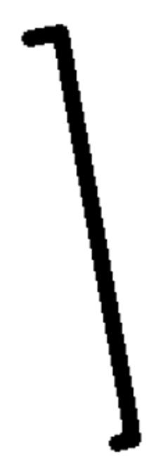 SJD4030D HINGE SIDE DOOR SEAL (TOP)